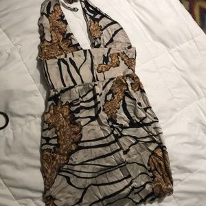 Beautiful, Silk dress, Size M, cute dress or top.